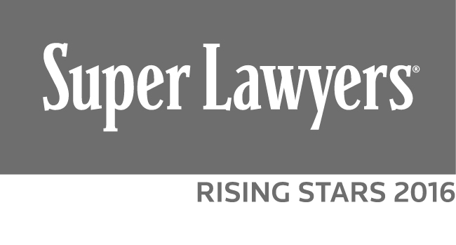 Super Lawyers Rising Star 2016