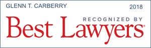 Glenn T. Carberry Best Lawyer Badge