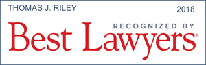 Thomas J. Riley Best Lawyer Badge